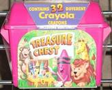 Crayola Treasure Chest (Red) - 32 colors.JPG