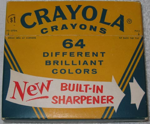 Crayola NO 64 (Arched white banner) - 64