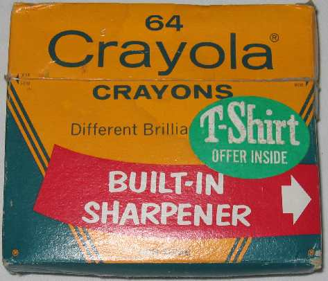 Crayola No 65 (T-Shirt) - 64 colors