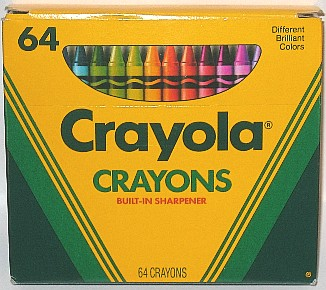 Crayola No 64 (fat mock 3 lines right) - 64