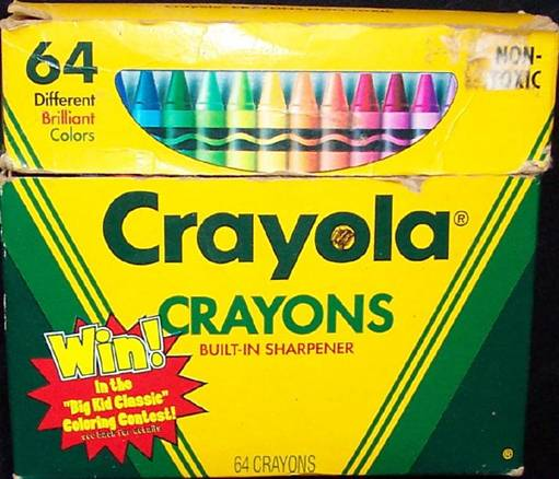 Crayola No 64 (Win Big Kid Classic) - 64