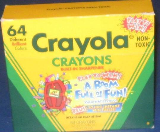 Crayola No 64 (A Room Full of Fun) - 64 colors