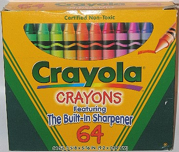 Crayola No 64 (RU mock top w crayon) - 64 colors