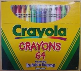 Crayola No 64 (RU mock top) - 64 colors