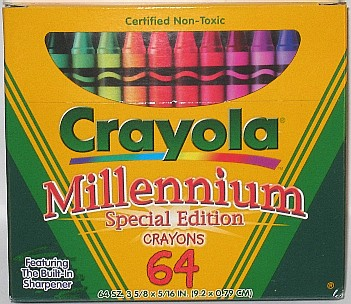 Crayola No 64 (Millennium) - 64 colors