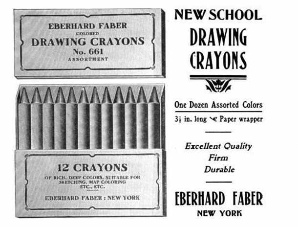 1906 NY Teacher Monographs Vol 8 - Faber Ad w pic.jpg