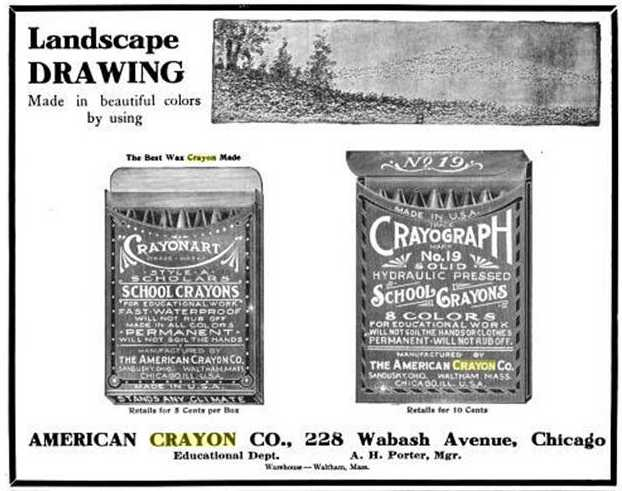 1907 Dec Crayonart